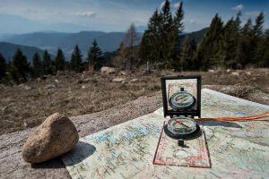 Parts pf a compass