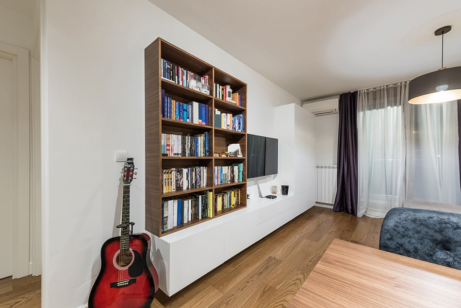 How to Secure Bookshelf to Wall Without Screws