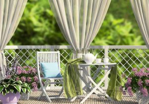 How to Secure Outdoor Curtains