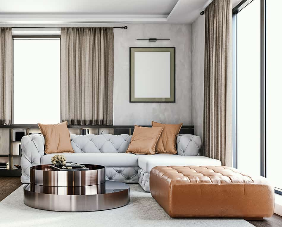 Ottoman or Coffee Table for Sectional?