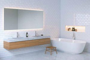 Should Bathroom Be Fully Tiled?
