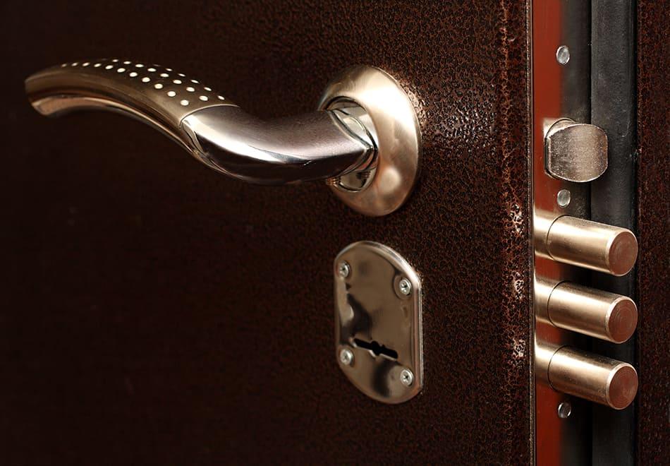 Parts of a door lock