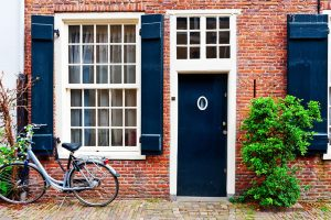 Best Front Door Colors for a Red Brick House