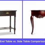 End Table vs. Side Table Comparison
