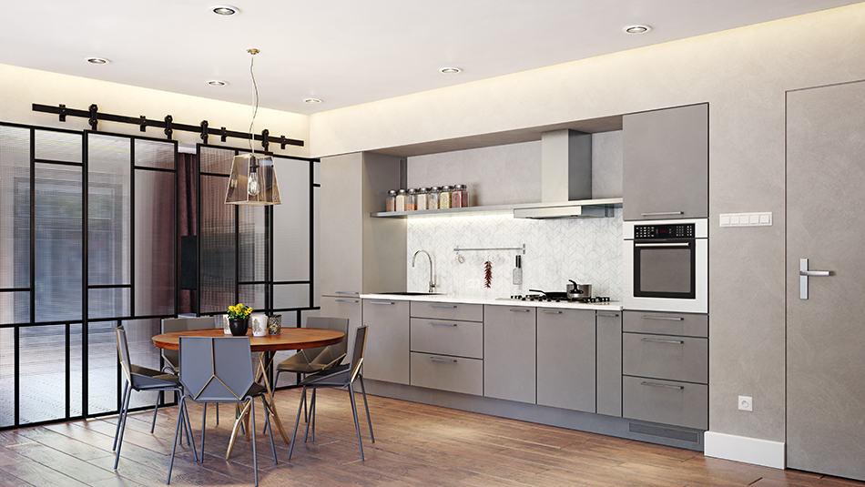 Engineered Wood in Kitchen