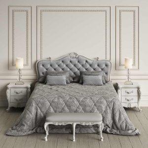 8 Glamorous Silver Bedroom Ideas