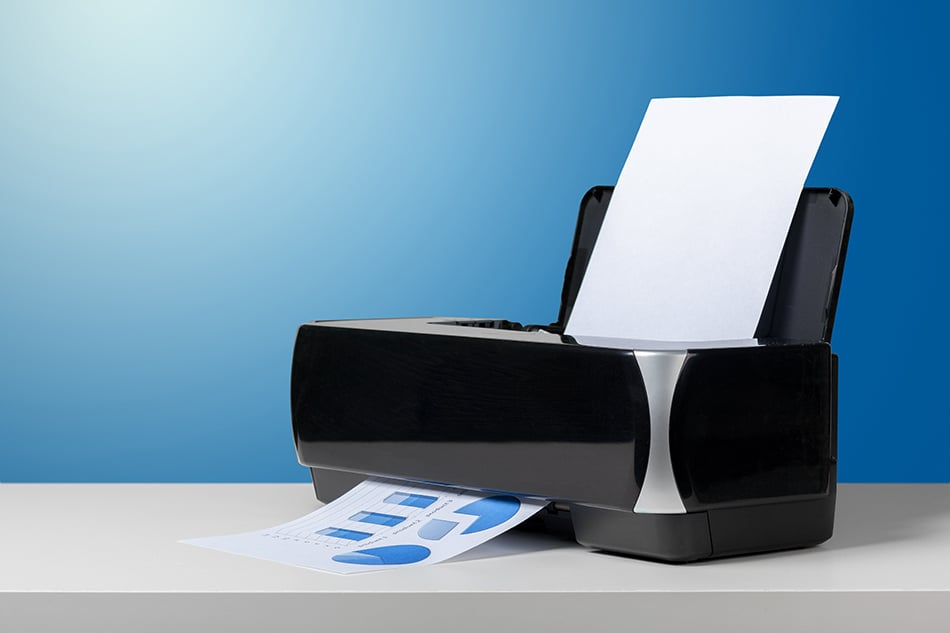 What are the Standard Printer Dimensions?