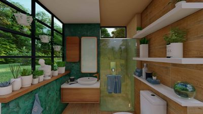11 Narrow Bathroom Ideas for a Functional Space