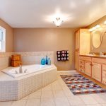 Where to Place Bathroom Rugs