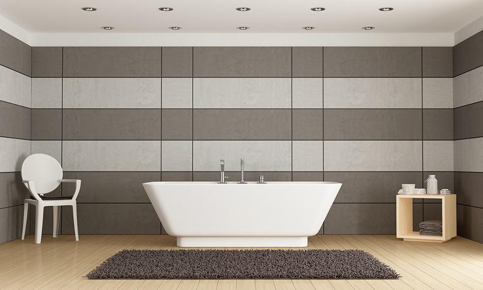 8 Bathroom Wall Paneling Ideas that Add Definition
