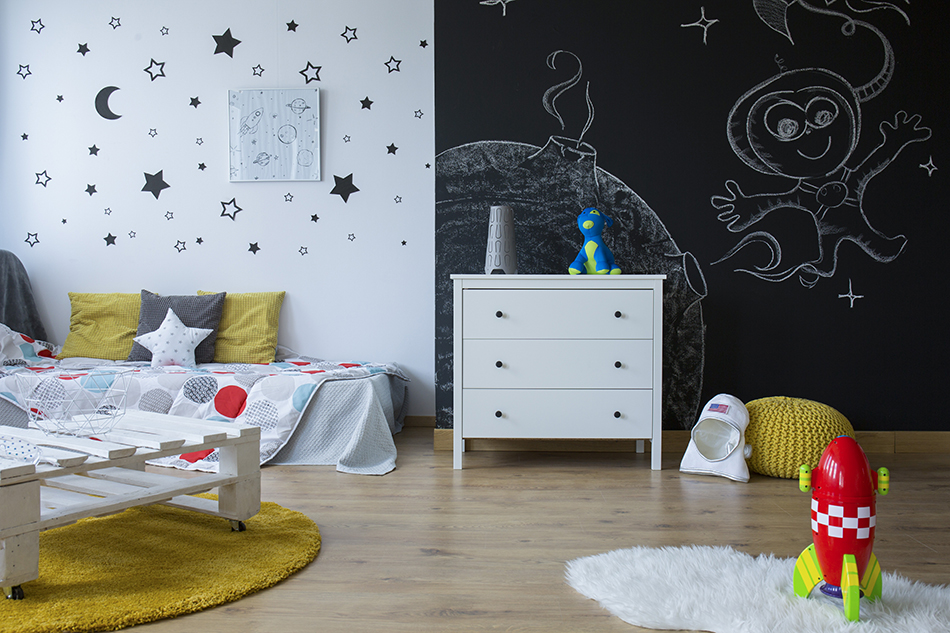 11 Brilliant Space Themed Bedroom Ideas for Kids of All Ages