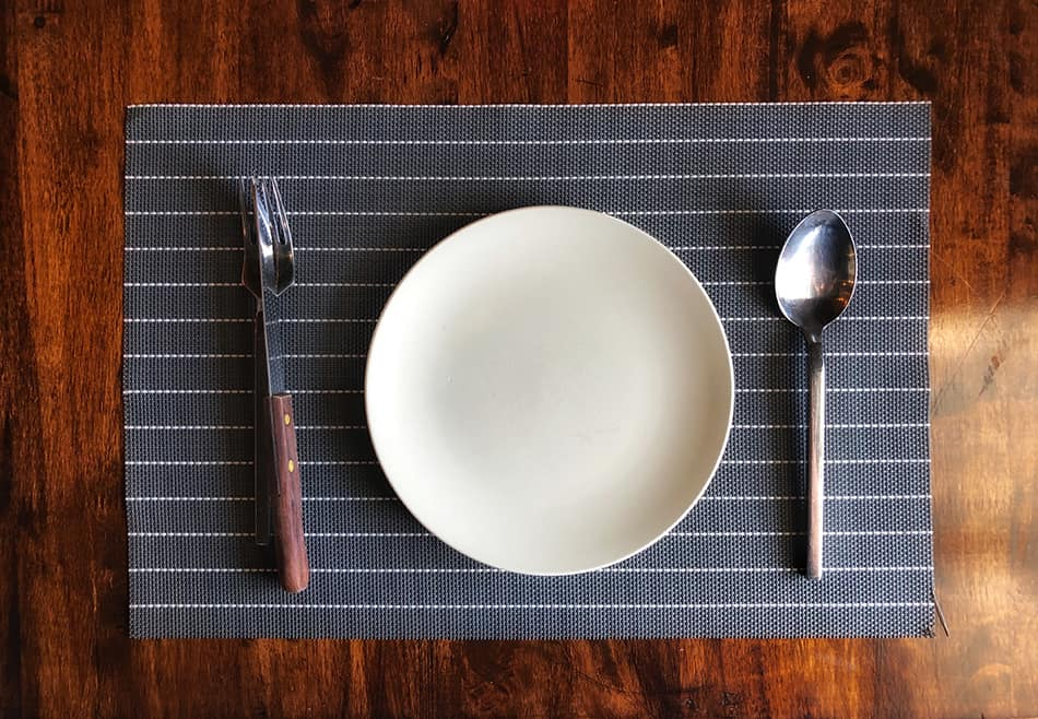What is the Standard Placemat Size?