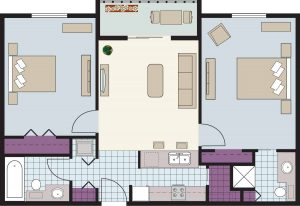 How Many People Can Live in a 2-Bedroom Apartment?