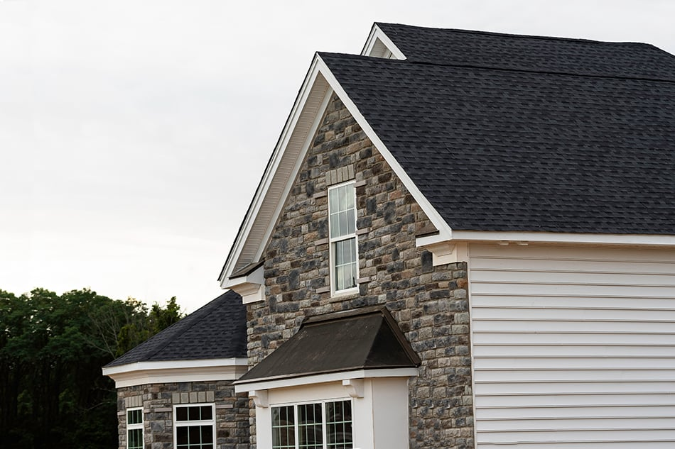 House Colors with Black Roof