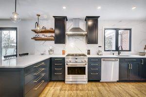 L-Shaped Kitchen Layouts & Floor Plans