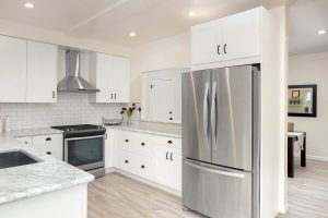 9 Striking Kitchen Colors that Go with Stainless Steel Appliances