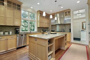 What Color Floor Goes with Oak Cabinets?