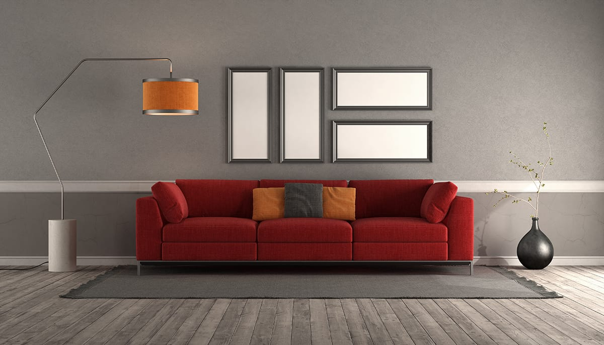 What Goes with Red Couch: 8 Complementing Decor Ideas