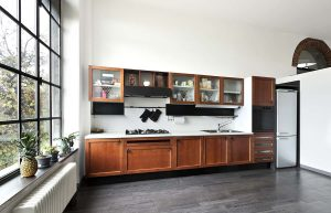 What Color Kitchen Cabinet Goes with Gray Floors