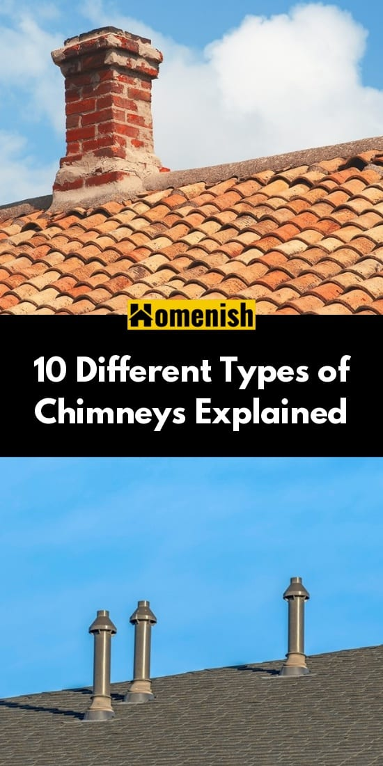 10 Different Types of Chimneys Explained