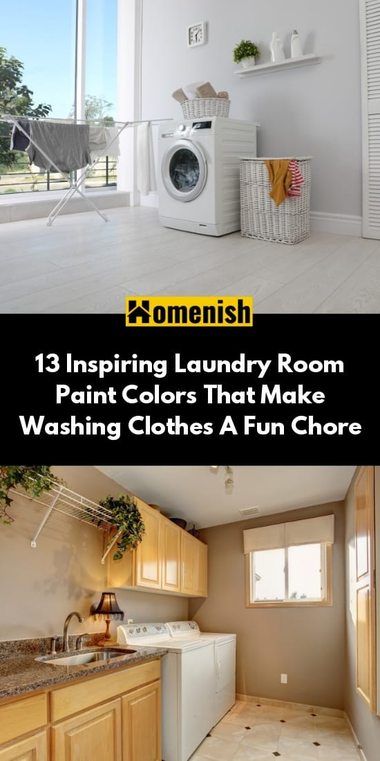 13 Inspiring Laundry Room Paint Colors That Make Washing Clothes A Fun Chore