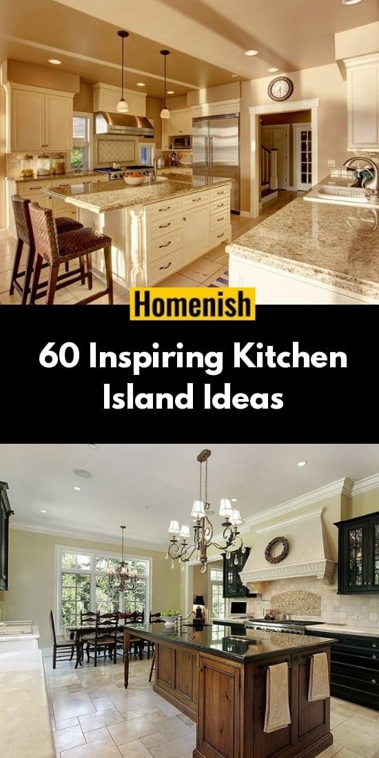 60 Inspiring Kitchen Island Ideas
