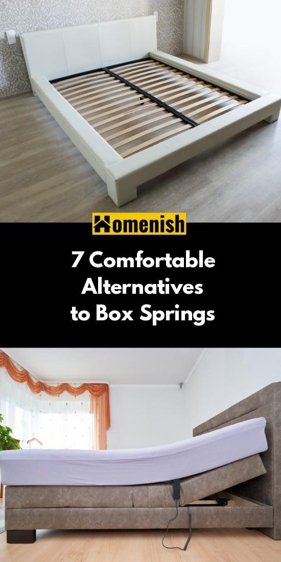 7 Comfortable Alternatives to Box Springs