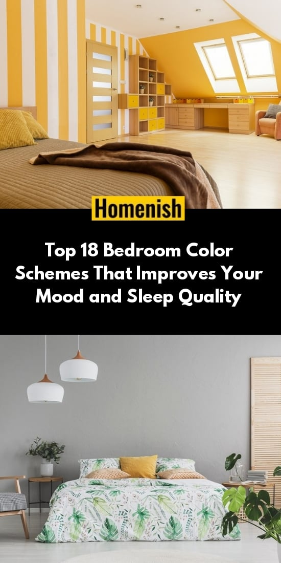 Top 18 Bedroom Color Schemes That Improves Your Mood and Sleep Quality